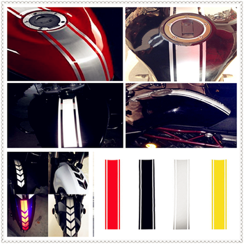 Motorcycle Reflective Sticker Fuel Oil Tank Pad Decal Decor Protector FOR BMW K1600 GTL R1200GS R1200GS ADVENTURE R1200R image
