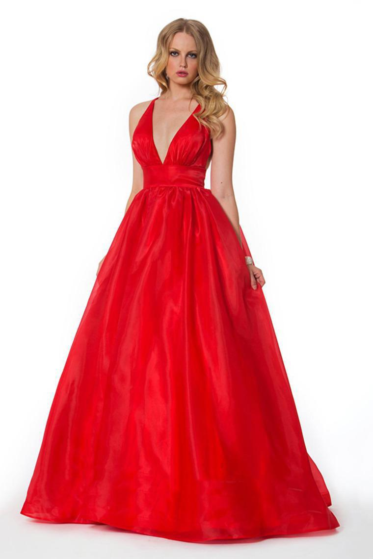 Free Shipping Fashion 2018 Vestido De Renda Sexy Bride Black Red Custom Dep V-neck Evening Gown Mother Of The Bride Dresses