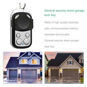 Duplicator-Key Remote-Control Learning-Code Garage-Door New 433MHZ Clone for Gate HFY408G