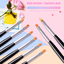 Professional Nail Art Detailing Line Carving Pen Pull Painting Drawing Brushes Tools