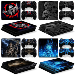 Factory Price Camo design Vinyl Skin Sticker for PS4 Pro console and Controller