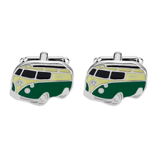 New Designs Vintage Bus Cufflinks Novelty Traffic Car Design Brass Material Design Cuff Links Wholesale&retail