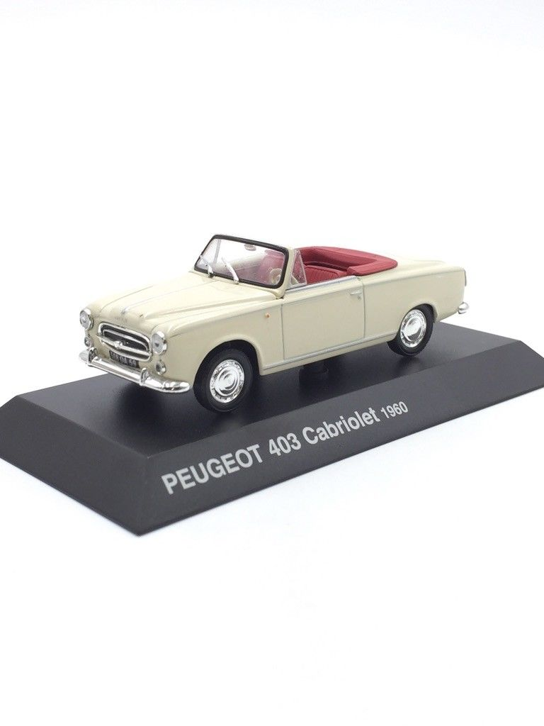 NORREV1/43 Alloy Model Peugeot 403 Cabriolet 1960 Convertible Model.