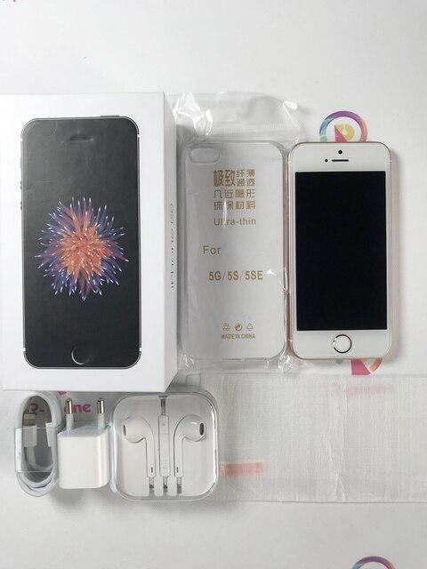 Original Apple iPhone SE Used 99% New 4G LTE Unlocked Mobile Phone 16GB 32GB 64GB 12MP Wifi Cellphones 6
