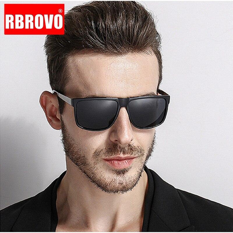 RBROVO 2020 sürüş polarize güneş gözlüğü erkekler marka tasarımcısı klasik güneş gözlüğü kadınlar/erkekler açık seyahat Oculos De Sol
