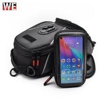 цена на WASAWE Motorcycle Magnetic Fuel Oil Tank Bag Universal Motorbike Touch screen navigation Bag Multifunction shoulder bag