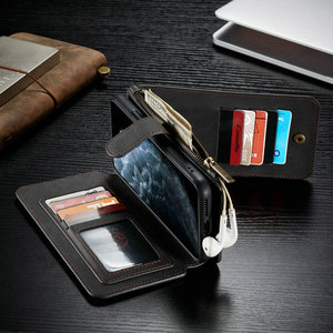 Image 4 - CaseMe Detachable Flip Leather Cases For iPhone 12 mini 11 Pro Business Wallet Phone Cover For iPhone 12 11Pro Max SE 2020