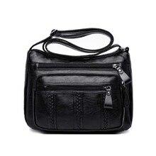 Retro Bag Women Bag Soft Sheepskin Shoul