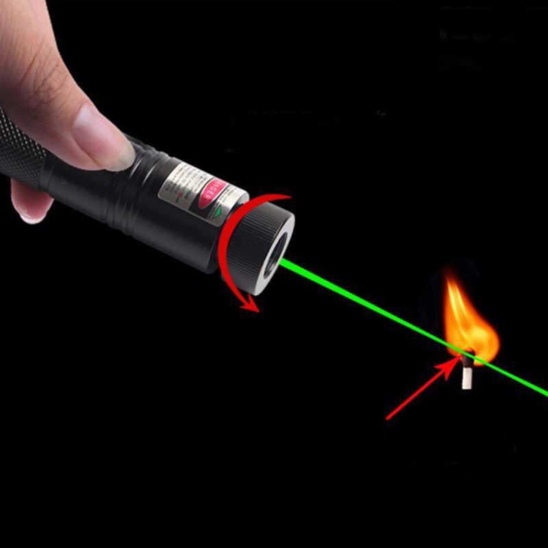 Litwod z30 militar 532nm 5mw 303 mini laser verde ponteiro lazer caneta queima de feixe para 18650 bateria queima jogo lanterna