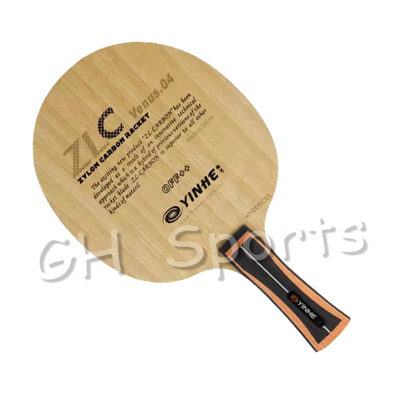 Galaxy Milky Way Yinhe V-4 ZLC Venus.04 Attack Loop OFF++ Table Tennis Blade For PingPong Racket