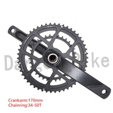 ZRACE HARDROCK 2 x 10 /11/12 Speed Road Chainset Chain Wheel crank protector, 50/34T, 165mm/170mm / 172.5mm / 175mm, Cranksets(China)