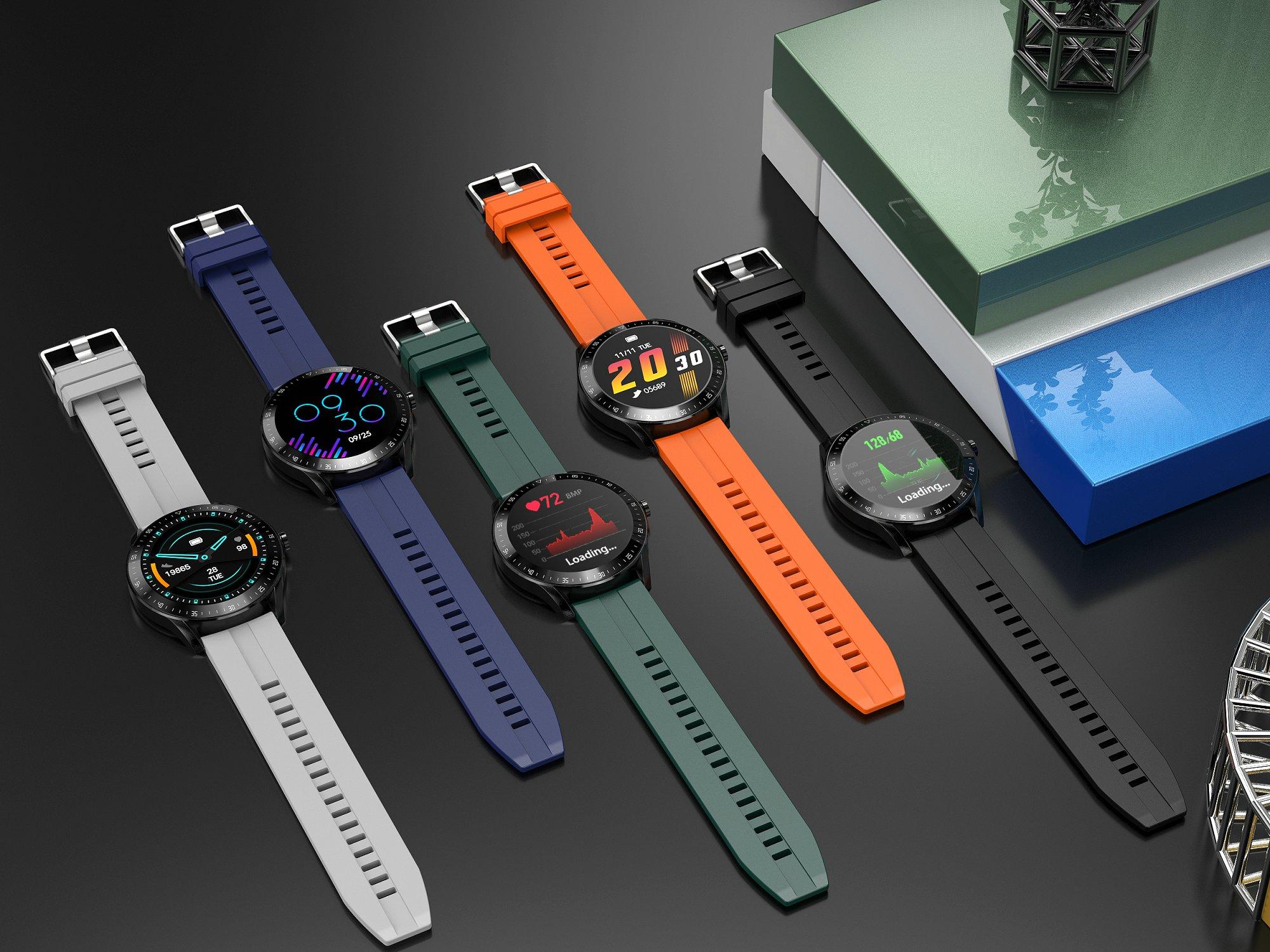 H3686b231dfa54645993ad92bf7477c58j LEMFO F15 Full Touch Screen Smart Watch Men 5D Case