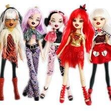 オリジナルファッションアクションフィギュア猫の目変化女の子bratzdoll魔法少女美しい人形ベストギフト