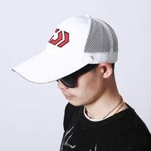 Daiwa cap fishing hat men beach sun shade Mesh Breathable uv protection face neck sports waterproof protection fishing clothing