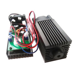 high power 2w 445nm blue laser modules TTL for DIY Laser cutter head for carving