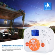 Drip-Irrigation Controller Water-Timer Garden Programmable for Emitter Professional