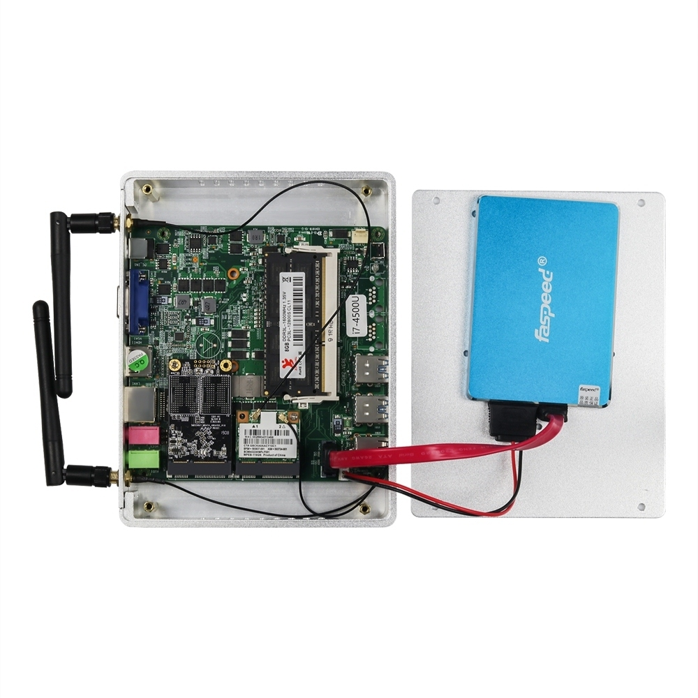 Fanless Mini PC for Windows with Dual Output Display and WiFi 17