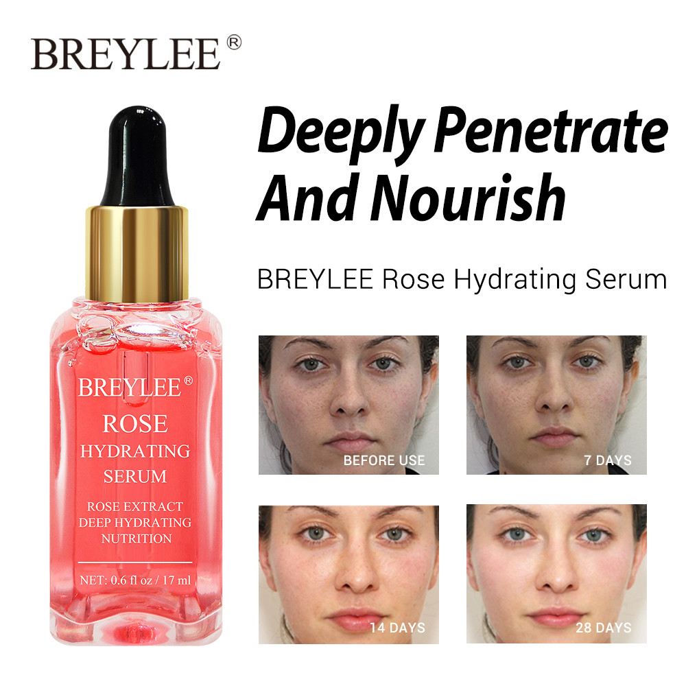 BREYLEE Face Serum Mask Retinol Skin Care Whitening Cream Vitamin C Hyaluronic Acid Moisturizer 24k Gold Anti Aging Essence 2pcs