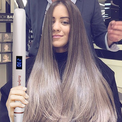 Profissional alisador de cabelo curler ferro liso varinha íon negativo endireitamento ionic ondulação ferro crimper