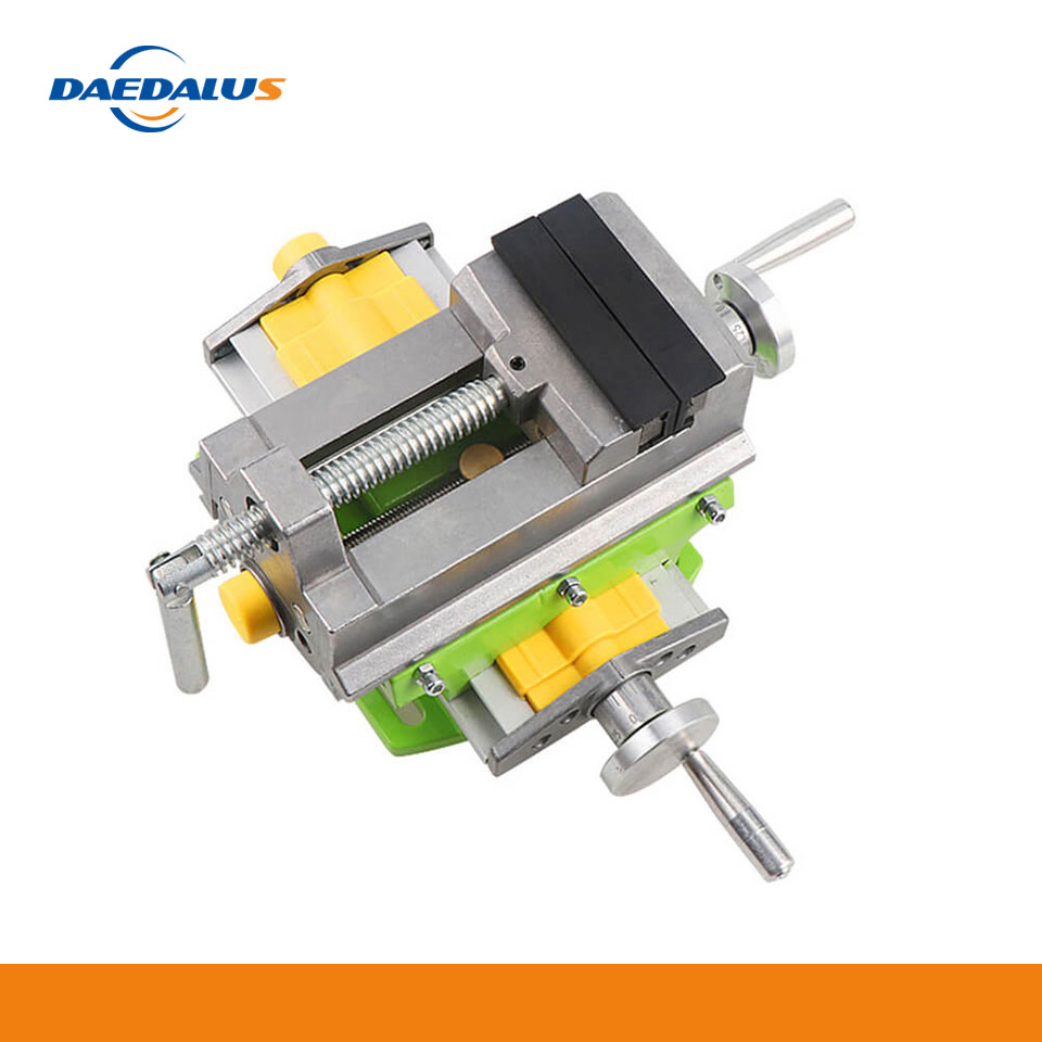 Daedalus 1PC BG6368 3inch Cross Pliers Bench Vise Fixing Manual Clamp For CNC Woodworking Fixing Tool DIY Engraving Machine