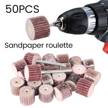 50Pcs 80# 120# 240# 320# 600# Grit Sanding Flap Disc Grinding Wheels Brush Sand Replacement Rotary Abrasive Tool