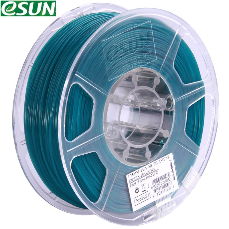 filament  esun  TPU PVA ePA ABS+/ plastic  for 3d printer filament 3d pen/5M 20C/ 1kg 340m/ from RU