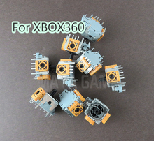 60 قطعة/الوحدة الأصلي جديد ثلاثية الأبعاد التناظرية عصا الاستشعار المقود مقبض استبدال ل XBOX 360 Xbox360 PS2 تحكم