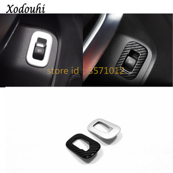 Car stick Chrome ABS trunk back door handle switch Cover trim button For Mercedes Benz A Class W177 A180 A200 A250 2019 2020 image