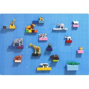 Image 4 - Duploed büyük tuğla büyük parçacık alt plaka 512 nokta 16*32 nokta 51*25.5cm yapı taşları taban plakası oyuncaklar çocuklar için