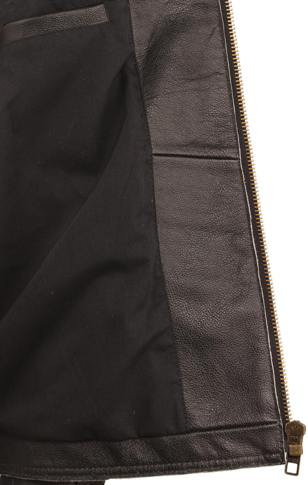 H36891a40bca94c22af4f8862951c4d66L Black Embroidery Skull Motorcycle Leather Jackets 100% Natural Cowhide Moto Jacket Biker Leather Coat Winter Warm Clothing M219