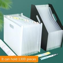 File-Folder Organizer Document-Paper Office-Stationery Expanding-Box Desktop-Storage