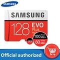 100% оригинальный Samsung карта памяти micro sd 128 ГБ флэш-карта памяти 100 МБ/с., объемом памяти 32 Гб или 64 ГБ cartao de memoria Class 10 UHS-I U3 4K 256 Гб TF карты