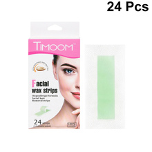 Paper-Strips Waxing Hair-Wax Facial for Adults Ladies 24pcs One-Bag Disposable