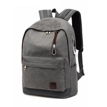 Travel bag High school students' school bags outdoor tourism leisure canvas bag backpack laptop bag