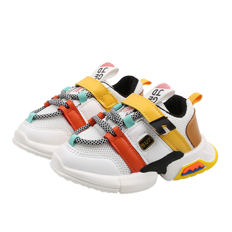 Zapatos deportivos para niños 2020, zapatillas nuevas de otoño para niñas, niños, transpirables, antideslizantes, zapatos de ocio para niños, zapatos para correr para bebés