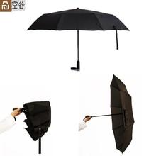 Youpin WD1 Automatico di Pioggia ombrello Tascabile Rovesci di Pioggia di Estate di Alluminio Antivento Impermeabile UV Parasole Parasole Uomo Donna