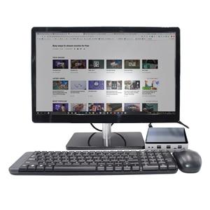 Image 5 - 2020 nuovo 10th generazione 2 Lan Mini PC Intel i7 10510U 4 Core 2 * DDR4 M.2 NVMe NUC Computer Win10 Pro Linux WiFi i5 8250U DP HDMI