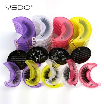 YSDO 3D Mink Lashes Wholesale 10/20/50/100 Pairs Fluffy Mink Eyelashes Makeup Natural False Eye Lashes Extension Lashes In Bulk 1