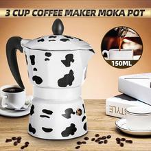 Pot Coffee-Maker Expresso Moka Percolator-Pot Cafeteira Hand-Made Practical Durable 3/6/9-cups