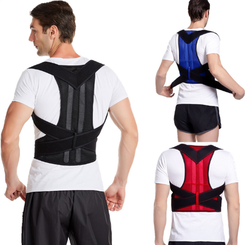 Back Posture Corrector Support Brace Clavicle Belt and Lumbar Adjustable Back Trainer Posture Corrector Brace Men and Women