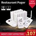 RETEKESS TD157 пейджер для ресторана Беспроводная система подкачки 16 кнопка вызова пейджер официанта для ресторана для кафе магазин фаст-фуд