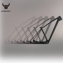 Bicycle-Frame Carbon-Mtb-Frame THRUST T1000 Black 15-17 19inch