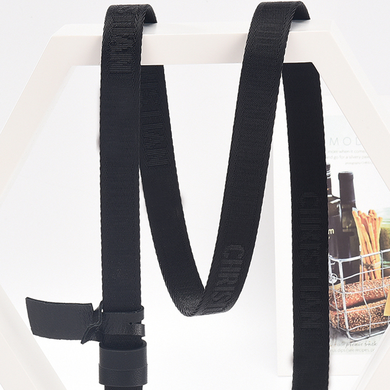 Luxury Designer Famous Brand Belt High Quality Genuine Leather Canvas Women Belts For Dress