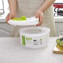 Girador de salada alface verde lavadora secador dreno filtro mais nítido para lavar secagem de frutas folhosas vegetal cozinha acessório # s