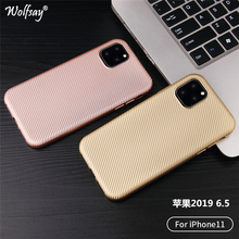 Ultra Thin Silicone Coque For iphone 11 Pro Max Case Bumper Cover Phone