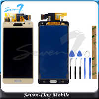 TFT New Tested LCD Display For SAMSUNG Galaxy A5 2015 A500 A500F A500FU A500H A500M LCD Display Digitizer Assembly Replacement