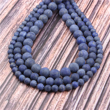 Hot?Sale?Natural?Stone?Matte Turquoise15.5?Pick?Size?4/6/8/10/12mm?fit?Diy?Charms?Beads?Jewelry?Making?Accessories