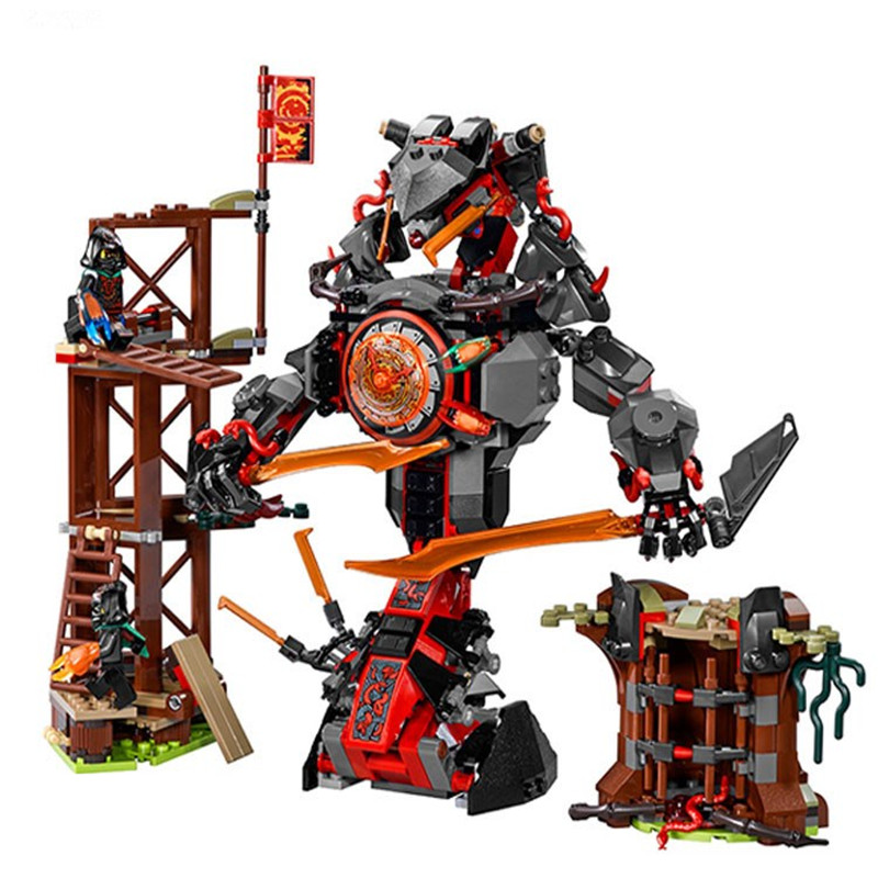 734 PCS 10583 <font><b>Legoinglys</b></font> Ninja Mini Figures Set Compatible Dawn Of Iron Doom Ninjagoes <font><b>70626</b></font> Building Blocks Toys for kids image