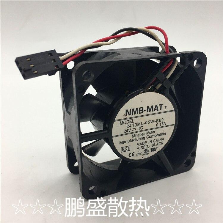 Original FOR Sunonkde 2404 PKS 3 4024 cm DC 24V 0.7W cooling fan