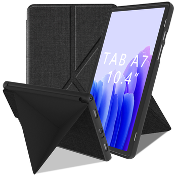 Funda inteligente para Samsung Galaxy Tab A7 10,4 pulgadas, suave TPU contraportada para Samsung Tab A7 Tablet Case